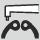 Aplicación de alicates para arandelas de seguridad Anillo interior acodado
