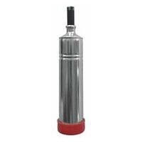 Professional grease gun with nozzle