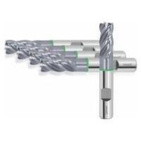HOLEX Pro Steel VHM-Schruppfräser HPC TiAlN