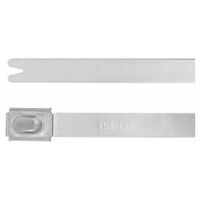 Cable tie set stainless steel  50 pieces